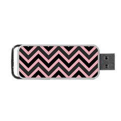 Zigzag Pattern Portable Usb Flash (two Sides) by Valentinaart