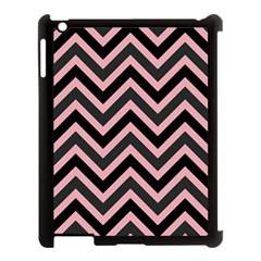 Zigzag Pattern Apple Ipad 3/4 Case (black) by Valentinaart