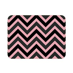 Zigzag Pattern Double Sided Flano Blanket (mini)  by Valentinaart
