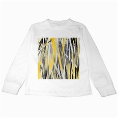 Abstraction Kids Long Sleeve T Shirts by Valentinaart