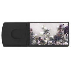 Watercolour Usb Flash Drive Rectangular (4 Gb)