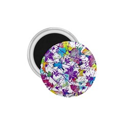 Lilac Lillys 1 75  Magnets