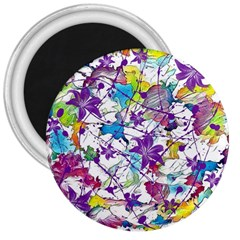 Lilac Lillys 3  Magnets