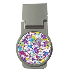 Lilac Lillys Money Clips (round)