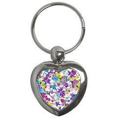 Lilac Lillys Key Chains (heart)