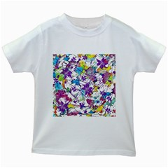 Lilac Lillys Kids White T Shirts