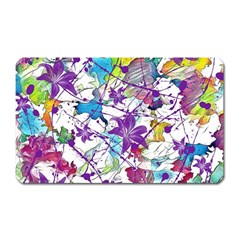 Lilac Lillys Magnet (rectangular) by designworld65