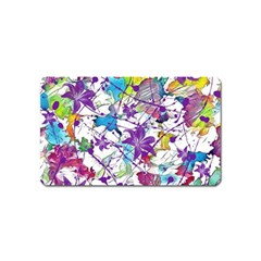 Lilac Lillys Magnet (name Card)