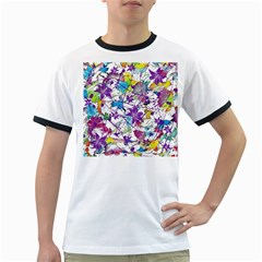 Lilac Lillys Ringer T Shirts