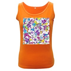 Lilac Lillys Women s Dark Tank Top