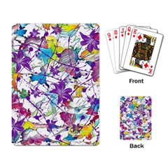 Lilac Lillys Playing Card