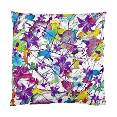 Lilac Lillys Standard Cushion Case (two Sides)