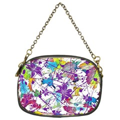 Lilac Lillys Chain Purses (two Sides)