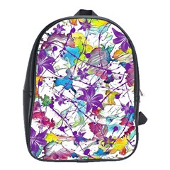 Lilac Lillys School Bags(large)  by designworld65