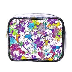 Lilac Lillys Mini Toiletries Bags