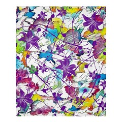 Lilac Lillys Shower Curtain 60  X 72  (medium)