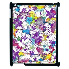Lilac Lillys Apple Ipad 2 Case (black)