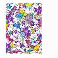 Lilac Lillys Large Garden Flag (two Sides) by designworld65