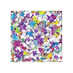 Lilac Lillys Acrylic Tangram Puzzle (4  X 4 ) by designworld65