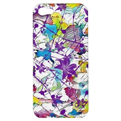 Lilac Lillys Apple Iphone 5 Hardshell Case