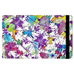 Lilac Lillys Apple Ipad 2 Flip Case by designworld65
