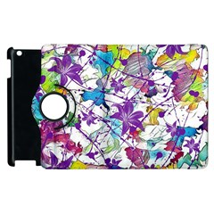 Lilac Lillys Apple Ipad 2 Flip 360 Case by designworld65