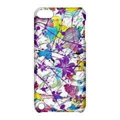 Lilac Lillys Apple Ipod Touch 5 Hardshell Case With Stand