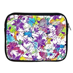 Lilac Lillys Apple Ipad 2/3/4 Zipper Cases
