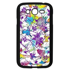 Lilac Lillys Samsung Galaxy Grand Duos I9082 Case (black)