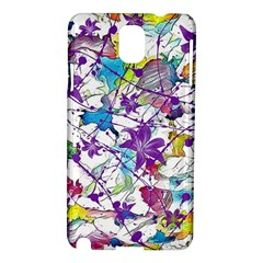 Lilac Lillys Samsung Galaxy Note 3 N9005 Hardshell Case