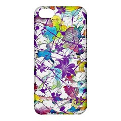 Lilac Lillys Apple Iphone 5c Hardshell Case