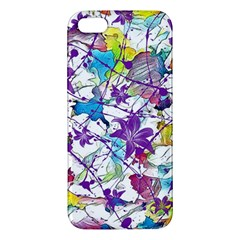 Lilac Lillys Iphone 5s/ Se Premium Hardshell Case