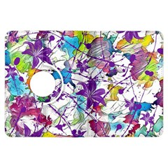 Lilac Lillys Kindle Fire Hdx Flip 360 Case by designworld65