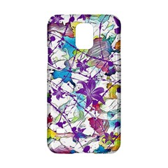 Lilac Lillys Samsung Galaxy S5 Hardshell Case