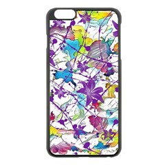 Lilac Lillys Apple Iphone 6 Plus/6s Plus Black Enamel Case