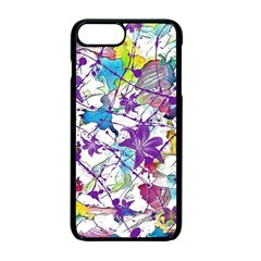 Lilac Lillys Apple Iphone 7 Plus Seamless Case (black)