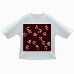 Funny Skull Rosebed Infant/toddler T Shirts