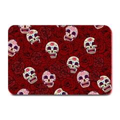 Funny Skull Rosebed Plate Mats