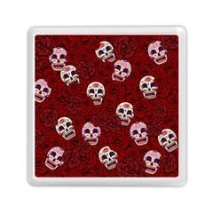 Funny Skull Rosebed Memory Card Reader (square)