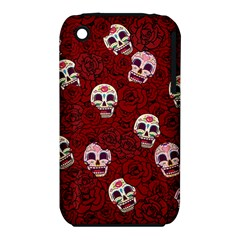 Funny Skull Rosebed Iphone 3s/3gs