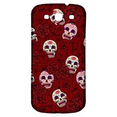 Funny Skull Rosebed Samsung Galaxy S3 S Iii Classic Hardshell Back Case