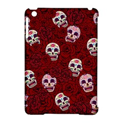 Funny Skull Rosebed Apple Ipad Mini Hardshell Case (compatible With Smart Cover)