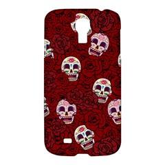 Funny Skull Rosebed Samsung Galaxy S4 I9500/i9505 Hardshell Case