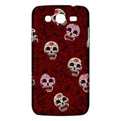 Funny Skull Rosebed Samsung Galaxy Mega 5 8 I9152 Hardshell Case