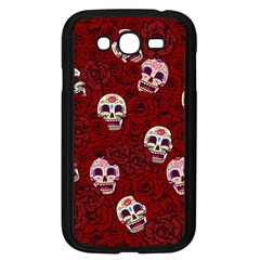 Funny Skull Rosebed Samsung Galaxy Grand Duos I9082 Case (black) by designworld65
