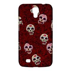 Funny Skull Rosebed Samsung Galaxy Mega 6 3  I9200 Hardshell Case