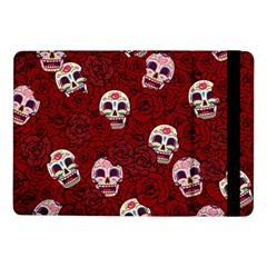 Funny Skull Rosebed Samsung Galaxy Tab Pro 10 1  Flip Case