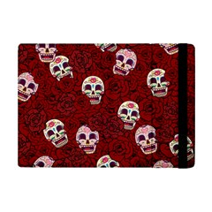 Funny Skull Rosebed Ipad Mini 2 Flip Cases