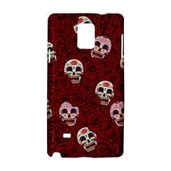 Funny Skull Rosebed Samsung Galaxy Note 4 Hardshell Case