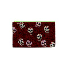 Funny Skull Rosebed Cosmetic Bag (xs)